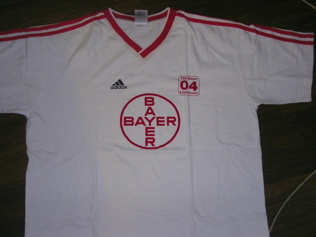 Bayer 04 Leverkusen Retro Replicas football shirt 1987 ...