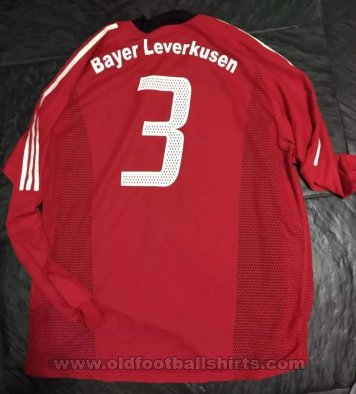 Bayer 04 Leverkusen Home football shirt 2002 - 2004