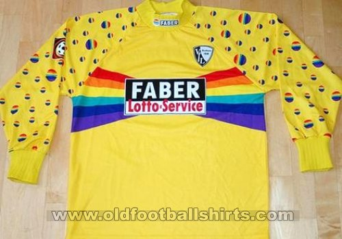 Vfl Bochum Goalkeeper Football Shirt 1997 1999 Sponsored By Faber Lotto