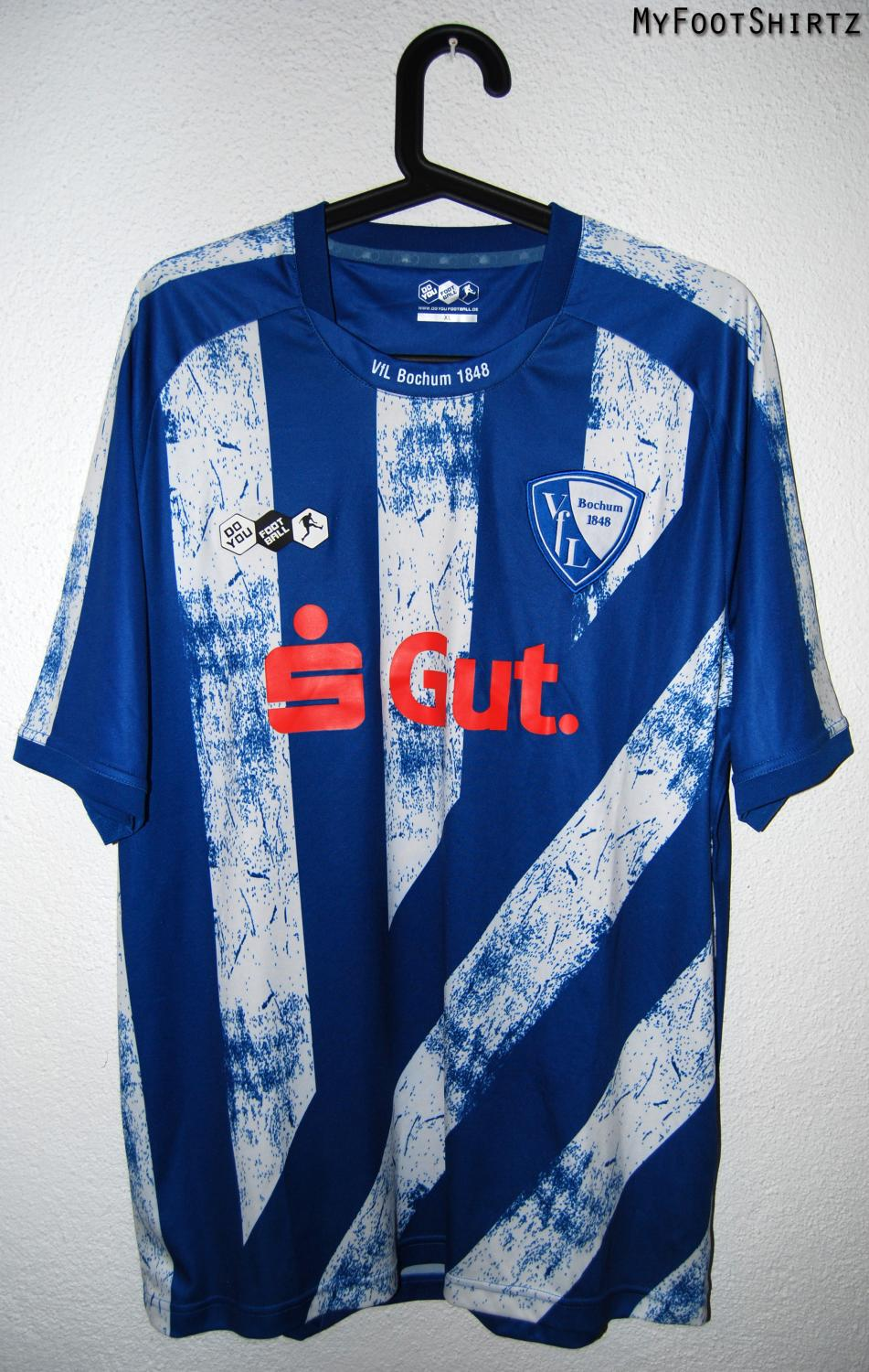 Details about 1995 1996 VFL BOCHUM REEBOK HOME FOOTBALL SHIRT (SIZE XL)