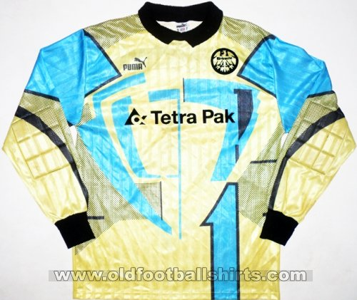 Eintracht Frankfurt Goalkeeper football shirt 1994 - 1995
