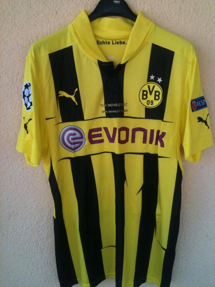 Borussia Dortmund Cup Shirt Football Shirt 2012 2013 Sponsored By Evonik