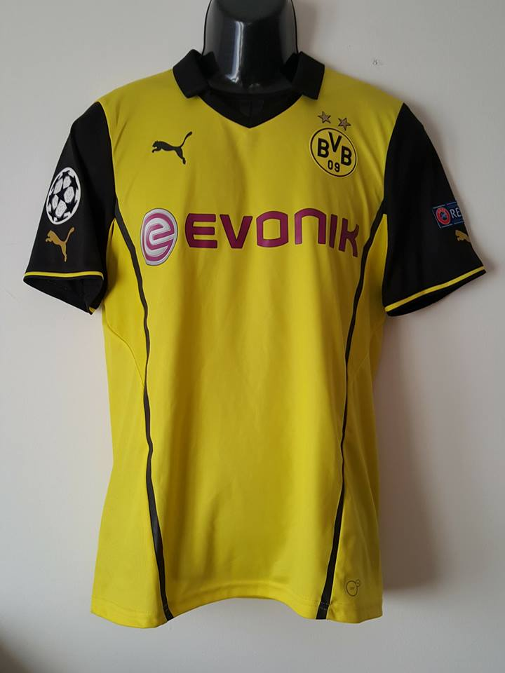 Borussia Dortmund Maillot De Coupe Maillot De Foot 2013 2014 Sponsored By Evonik