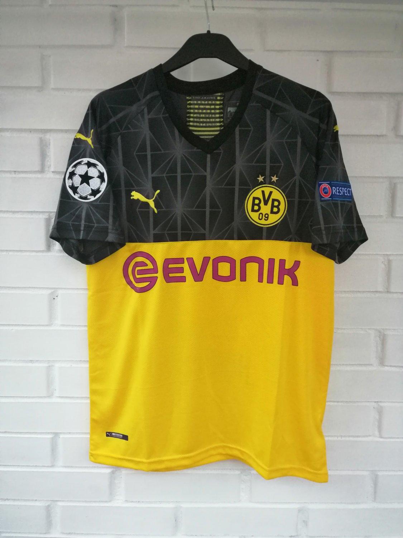 New Season Borussia Dortmund Cup Shirt Football Shirt 2019 2020 Sponsored By Evonik