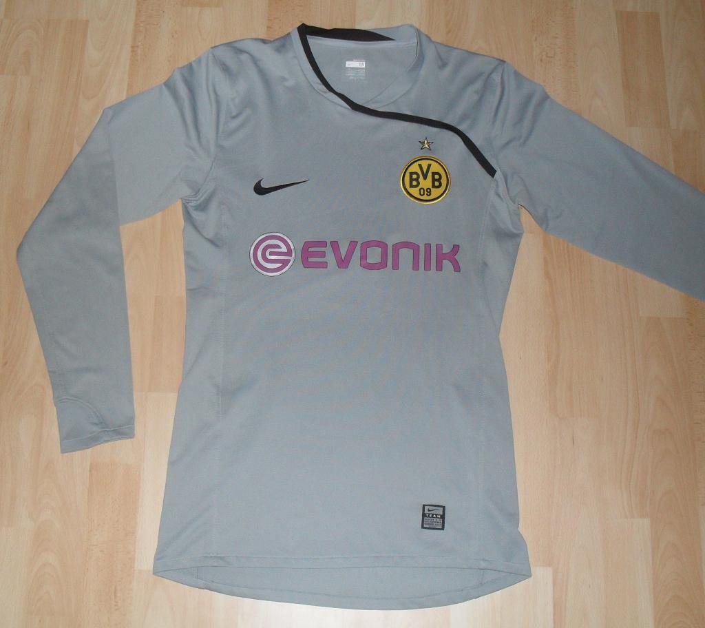 Borussia Dortmund Portiere maglia di calcio 2008 - 2009. Sponsored ...