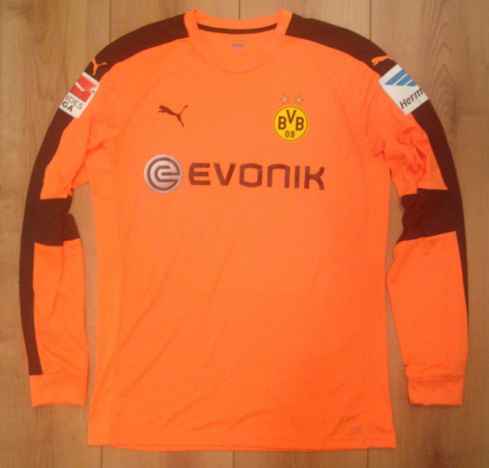 save off cec32 e70ab Borussia Dortmund Goalkeeper חולצת כדורגל 2016 - 2017 ...
