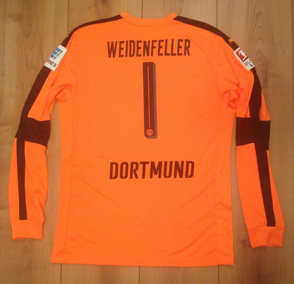 save off 4d27a be419 Borussia Dortmund Goalkeeper חולצת כדורגל 2016 - 2017 ...
