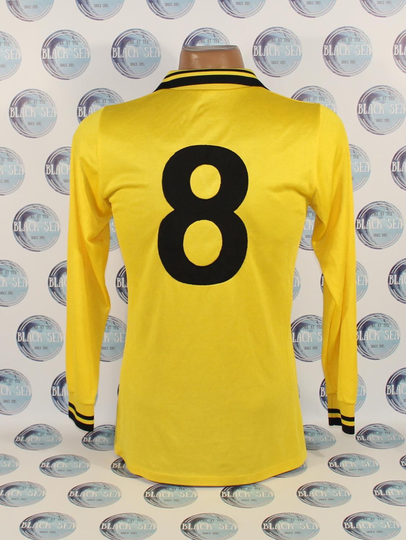 Borussia Dortmund Home football shirt 1979 - 1980. Sponsored by no ...