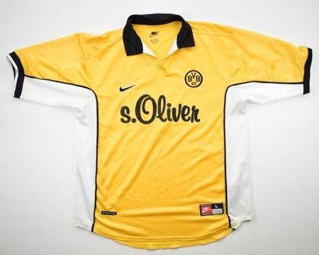 Borussia Dortmund Home football shirt 1998 - 2000. Sponsored by s ...