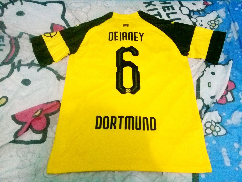 c524d0621 Borussia Dortmund Home Maillot de foot 2018 - 2019. The Borussia Dortmund  shirt ...