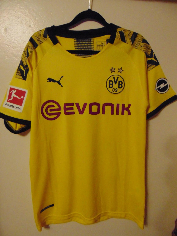 Borussia Dortmund Home maglia di calcio 2019 - 2020. Sponsored by ...