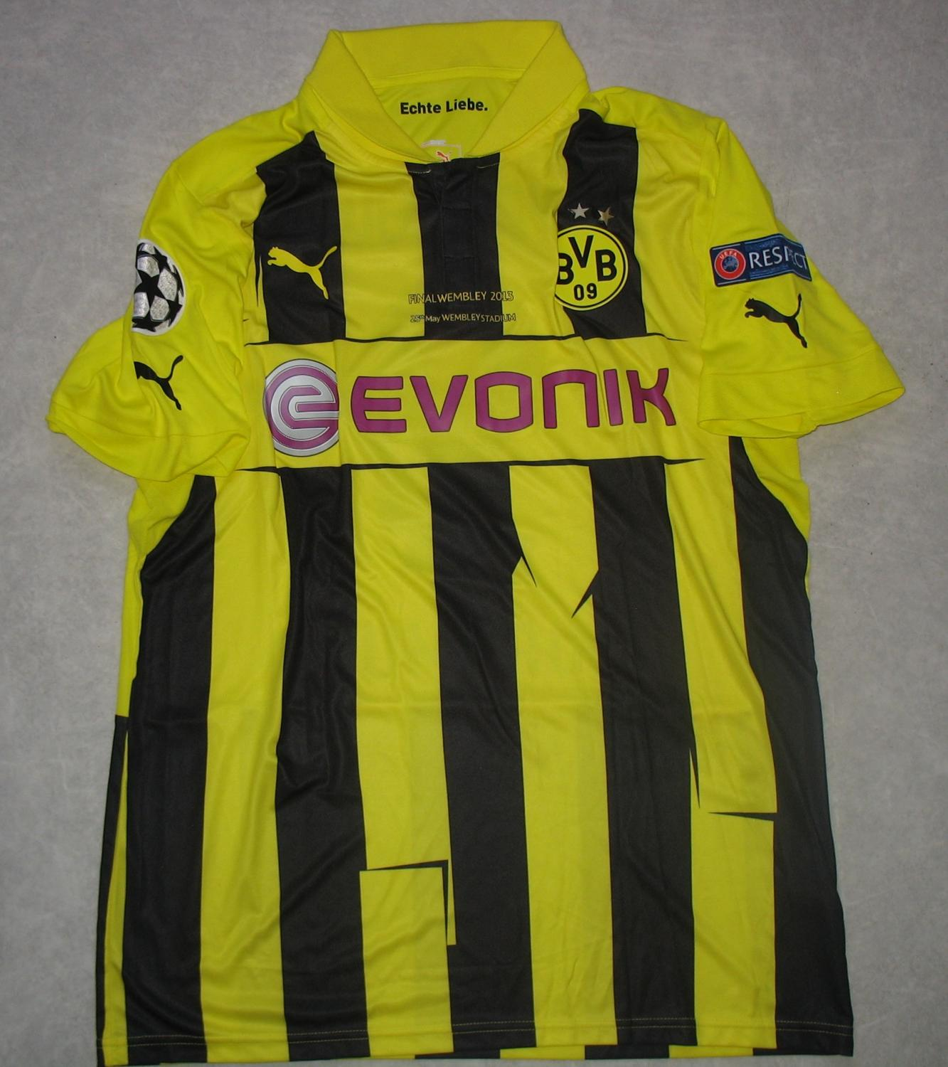Champions League Final 2012: Borussia Dortmund Cup Shirt Football Shirt 2012