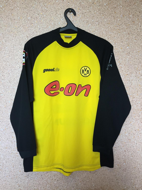 c65630cfc Borussia Dortmund Home camisa de futebol 2001 - 2002. Sponsored by e.on