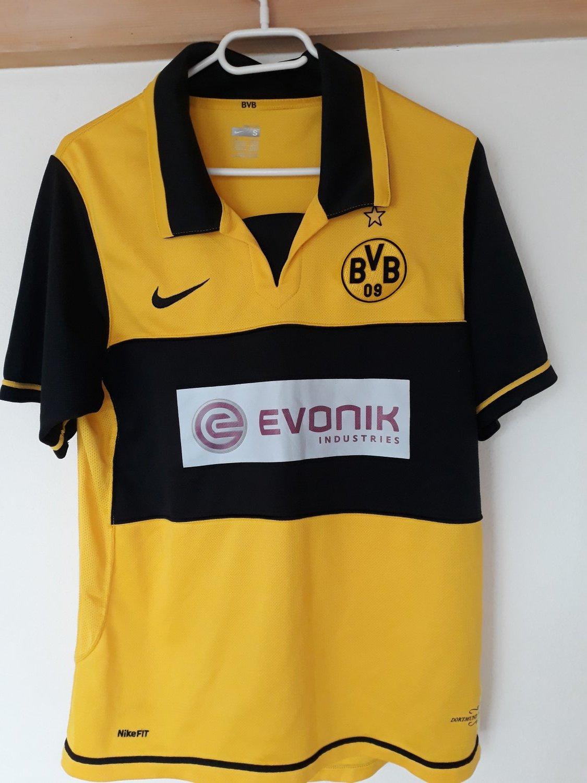 Borussia Dortmund Home maglia di calcio 2007 - 2008. Sponsored by ...