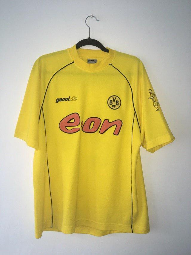 Borussia Dortmund Speciale maglia di calcio 2001 - 2002. Sponsored ...