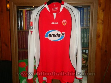Energie Cottbus Home football shirt 2005 - 2006
