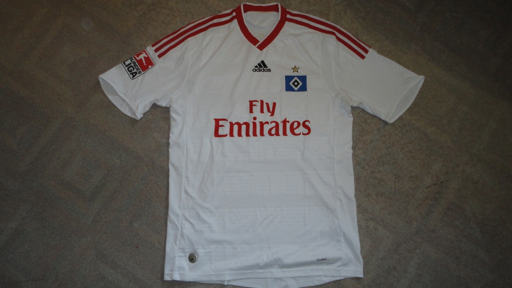 Details about HAMBURGER SV ADIDAS ORIGINALS FOOTBALL SHIRT (SIZE S)