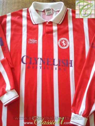 Brora Rangers Home football shirt 1993 - 1994