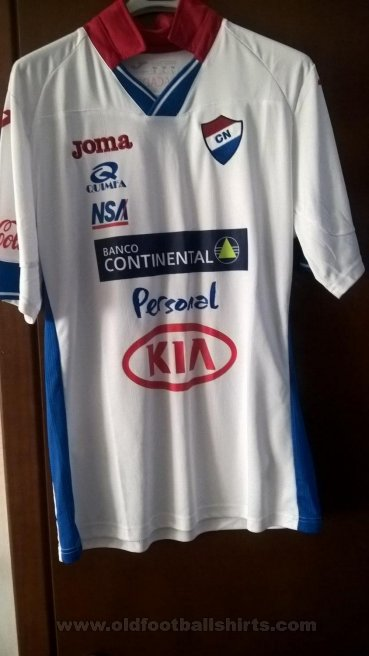 Club Nacional Asuncion Home football shirt 2014 - 2015