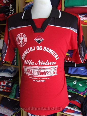 Ørslev Bjerge IF Home camisa de futebol (unknown year)