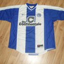 Hertha football shirt 1999 - 2000
