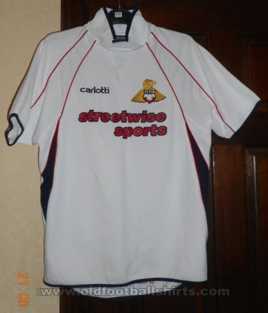 Doncaster Rovers Third football shirt 2004 - 2006