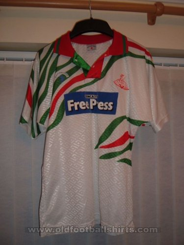 Doncaster Rovers Away Fußball-Trikots 1992 - 1994