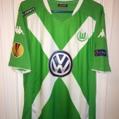 VfL Wolfsburg Local Camiseta de Fútbol 2013 - 2014