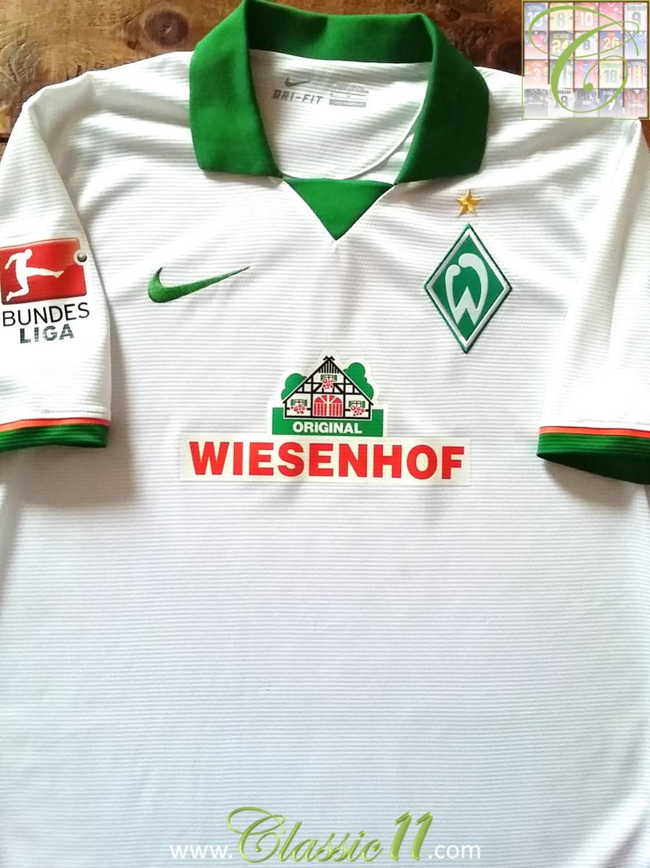 SV Werder Bremen Trikot Pin 2014//2015 Home Badge Kit Wiesenhof