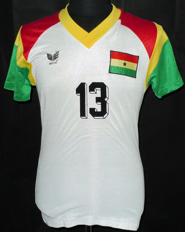 89d8015e3 Ghana Home fotbollströja 1988.