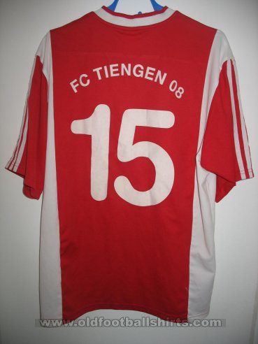 FC Tiengen 08 e.V. Home voetbalshirt  (unknown year)