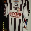 Lokomotiv Plovdiv football shirt 1998 - 2000