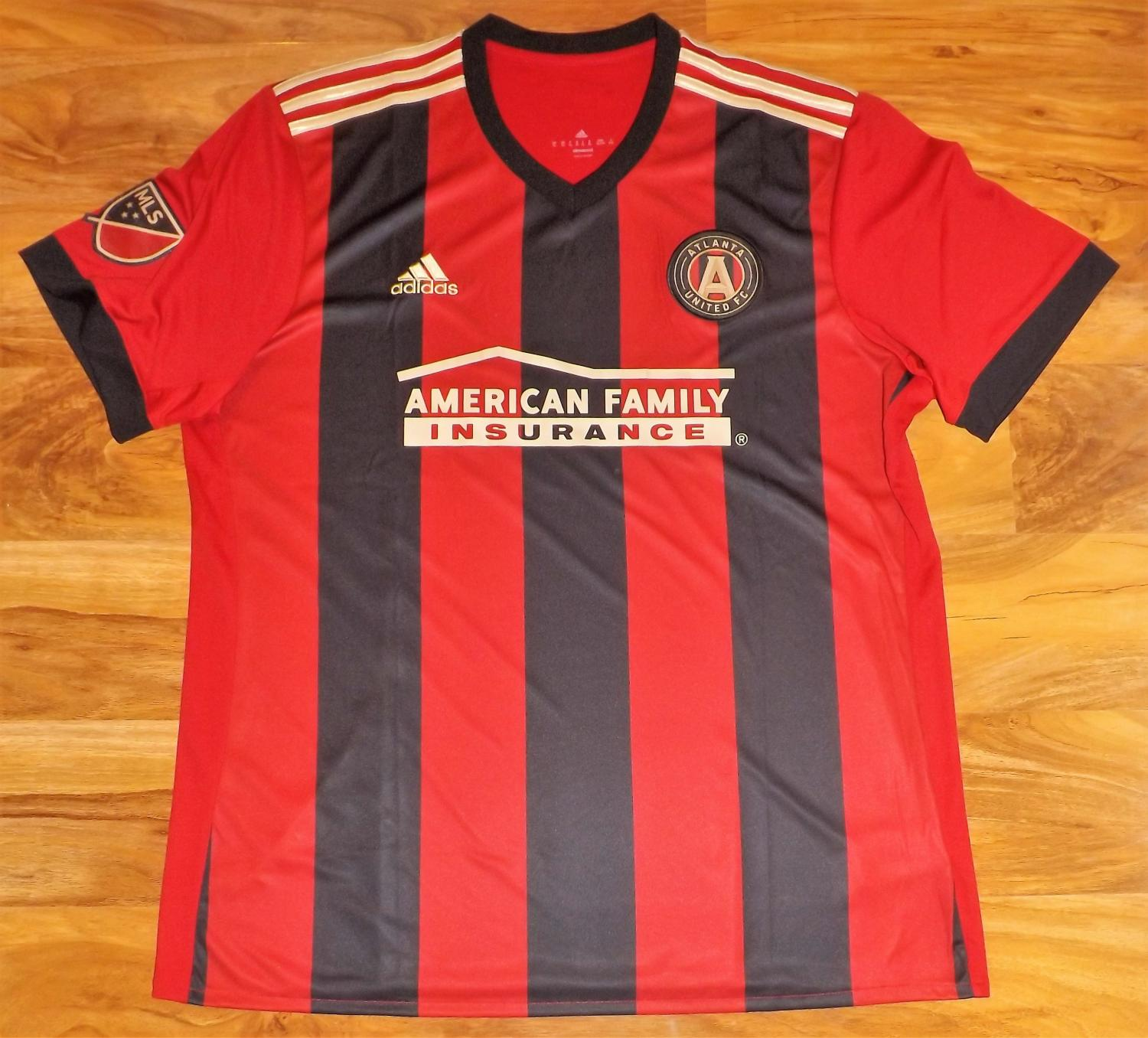 check out 8ed6e 5e9ed Atlanta United FC Home football shirt 2017.
