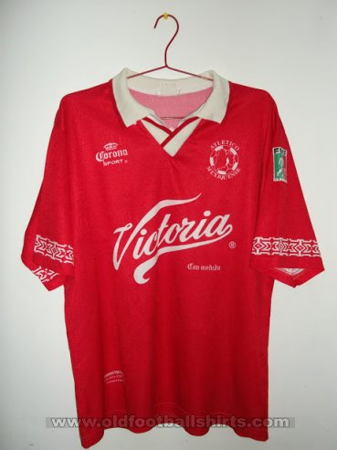 Atletico Mexiquense Home football shirt 1997