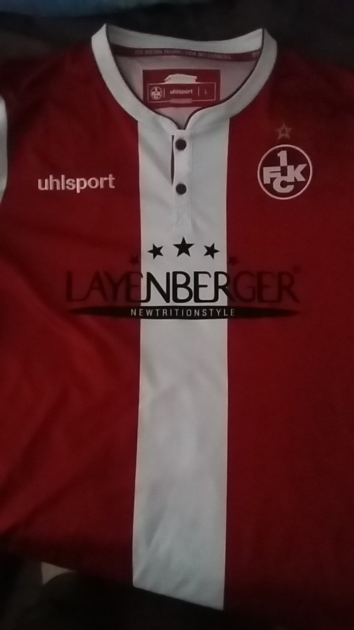 FC Kaiserslautern Trikot 2014//15 Home Uhlsport XL XXL 1