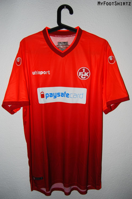 1 FC Kaiserslautern Germany Bundesliga UEFA Footbal Soccer T shirt 1.FCK Teufel
