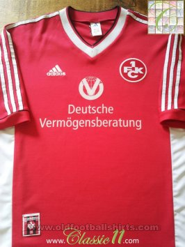 1. FC Kaiserslautern Home football shirt 1998 - 1999
