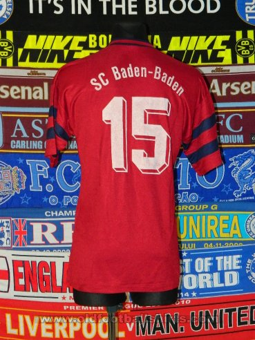 SC Baden-Baden Home football shirt (unknown year)