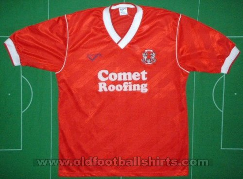 Leyton Orient Thuis  voetbalshirt  1989 - 1990