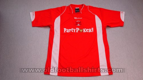 Leyton Orient Home football shirt 2007 - 2008