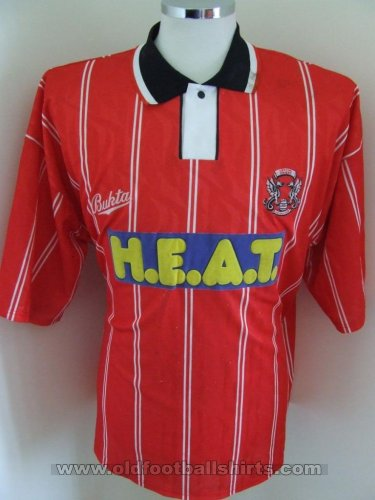 Leyton Orient Thuis  voetbalshirt  1993 - 1995