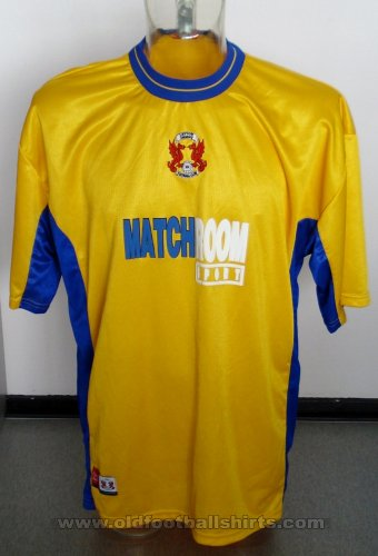 Leyton Orient Away football shirt 2000 - 2001