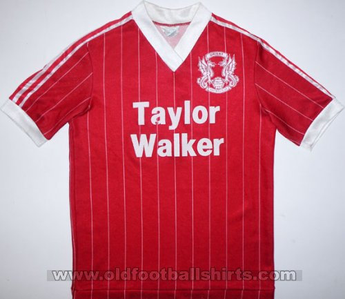 Leyton Orient Local Camiseta de Fútbol 1981 - 1982