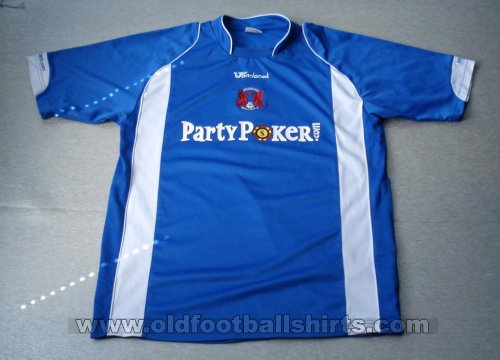 Leyton Orient Away футболка 2007 - 2008