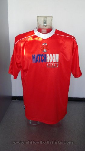 Leyton Orient Thuis  voetbalshirt  2000 - 2001