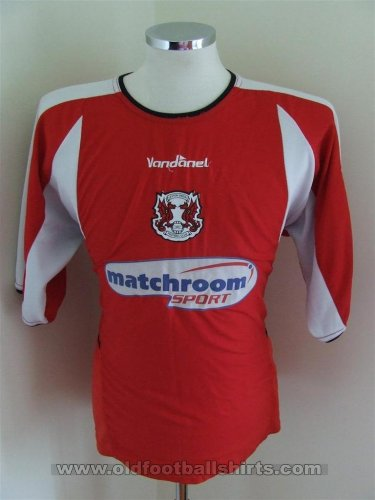 Leyton Orient Local Camiseta de Fútbol 2004 - 2006