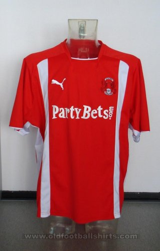 Leyton Orient Home football shirt 2008 - 2009