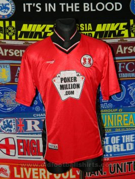 Leyton Orient Thuis  voetbalshirt  2003 - 2004