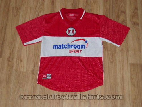 Leyton Orient Home voetbalshirt  2002 - 2003