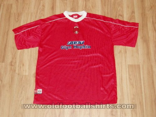 Leyton Orient Local Camiseta de Fútbol 2000 - 2001